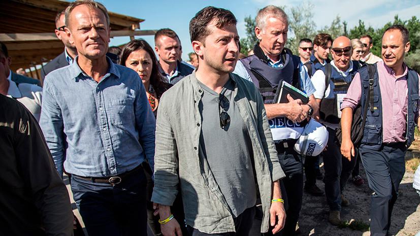 «Не вижу никакой проблемы»: как Зеленский предложил решить вопрос о русском языке в Донбассе
