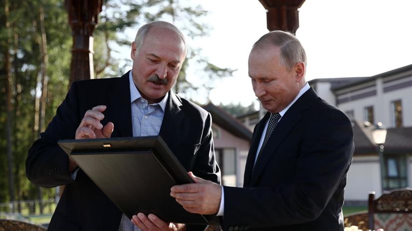 Лукашенко рассказал о ходе процесса интеграции Белоруссии и России