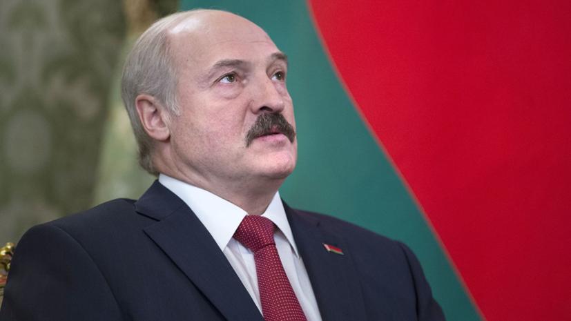Лукашенко заявил об отсутствии планов объединить Белоруссию и Россию