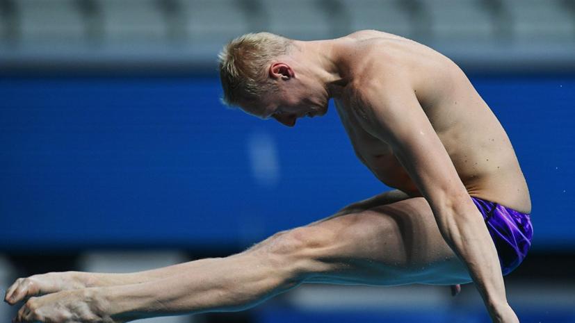 В федерации прыжков в воду надеются, что Захаров успеет набрать свою лучшую форму к ОИ-2020