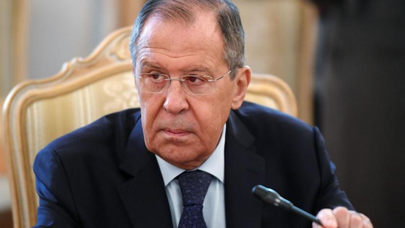 Лавров прокомментировал идею Зеленского о переговорах в Минске