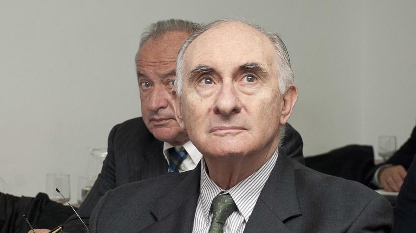 Умер бывший президент Аргентины Фернандо де ла Руа