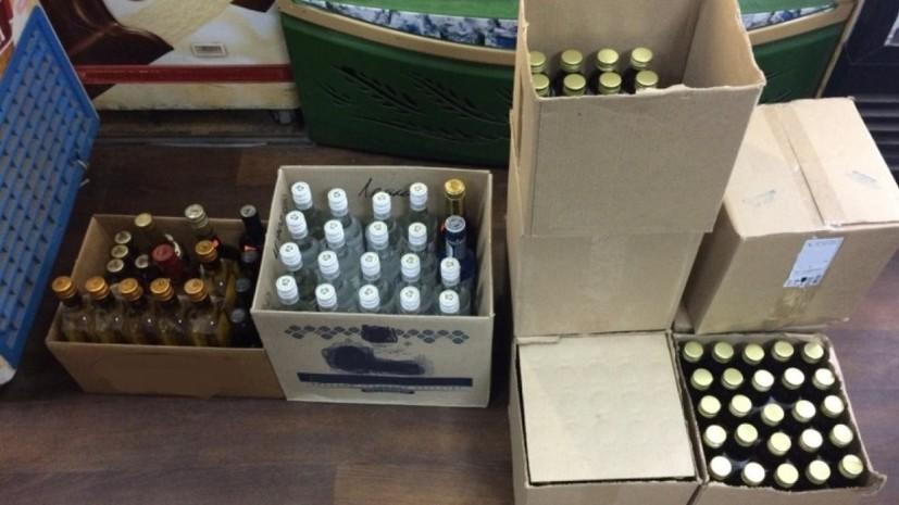 В Петербурге изъяли 170 тонн нелегального алкоголя