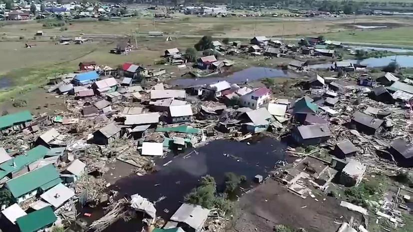 В Иркутской области рассказали о выплатах пострадавшим от паводка
