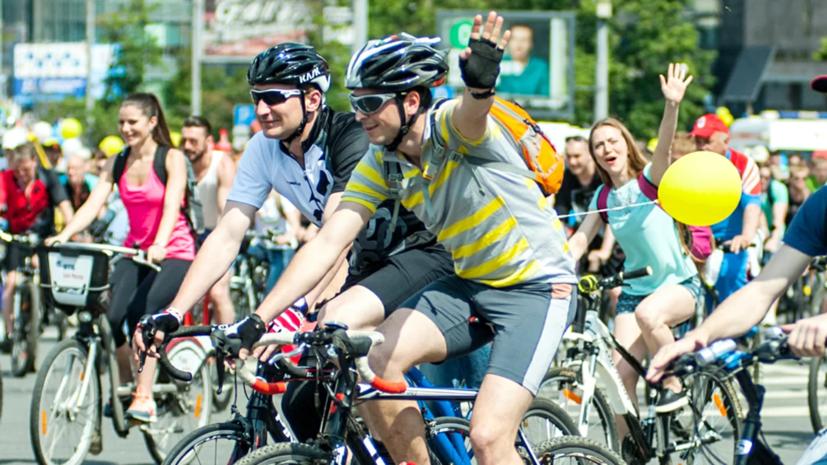 Самую большую фигуру велосипеда создадут на велофестивале в Москве