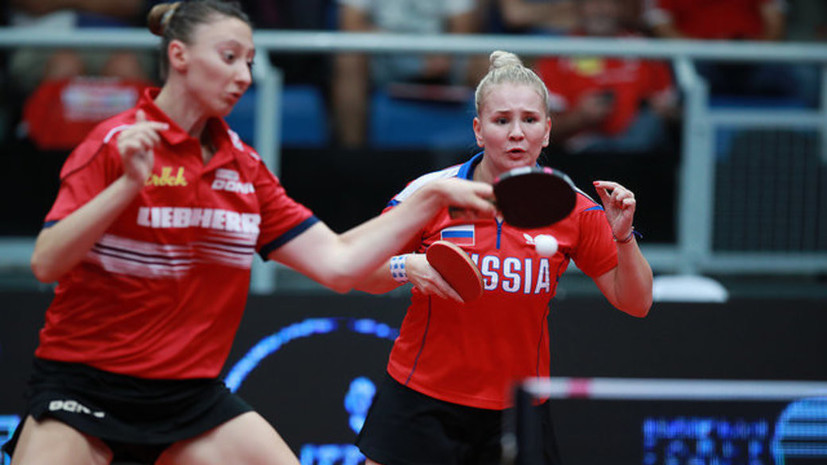 Носкова и Щербатых завоевали бронзу в настольном теннисе на Универсиаде-2019