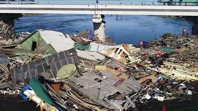 «Рабочие приступили к берегоукреплению»: как проходит ликвидация последствий паводка в Иркутской области