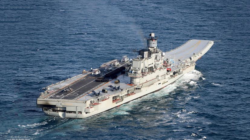До 40 самолётов и вертолётов на борту: каким может стать перспективный авианосец ВМФ России
