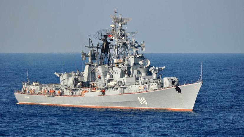 Украина заявила о заходе российского корабля в зону учений Sea Breeze