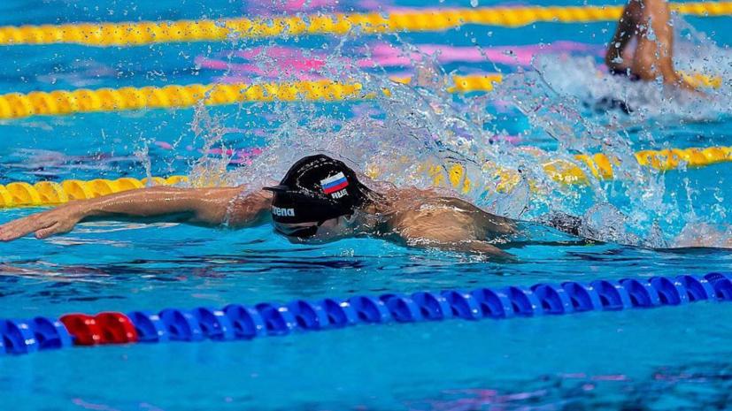 Пловец Марков стал третьим на дистанции 50 метров вольным стилем на Универсиаде
