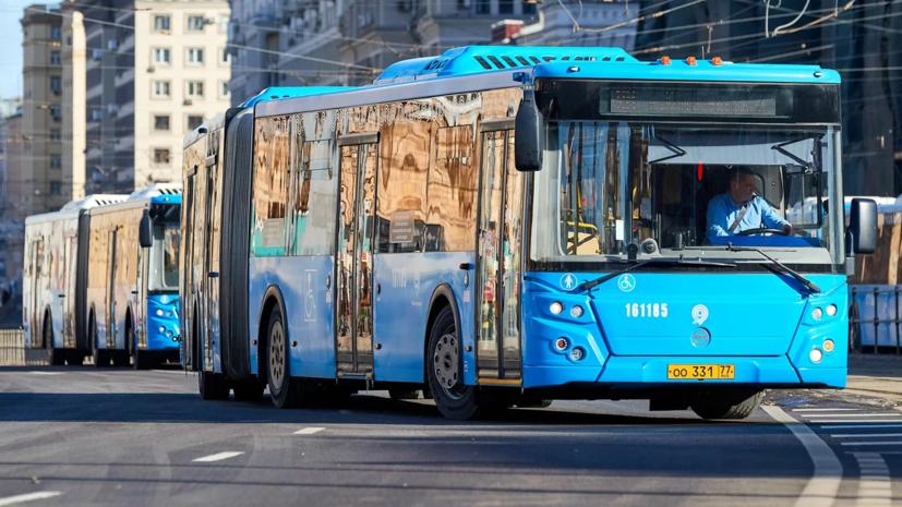 В Москве запустят два бесплатных автобусных маршрута из-за закрытия участка Сокольнической линии