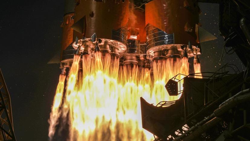 Ракета-носитель «Союз-2.1в» стартовала с космодрома Плесецк