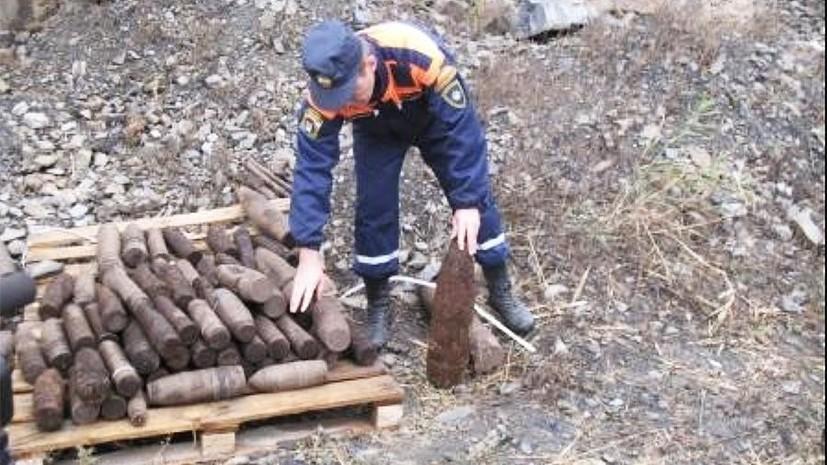 В Ростовской области обезвредили 34 боеприпаса времён Великой Отечественной войны