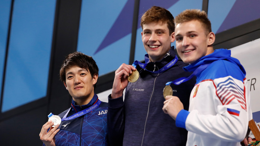 Россияне завоевали четыре медали в седьмой день Универсиады