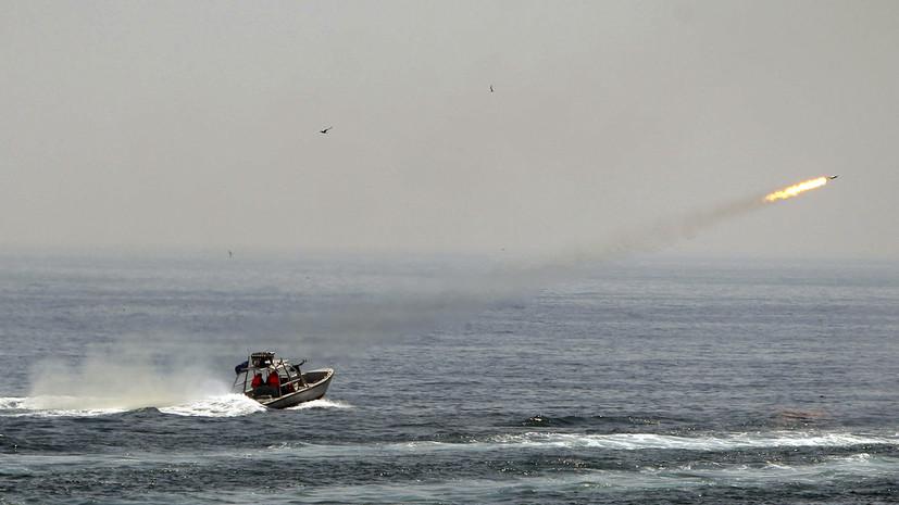 КСИР отрицает попытки задержать британский танкер в Персидском заливе