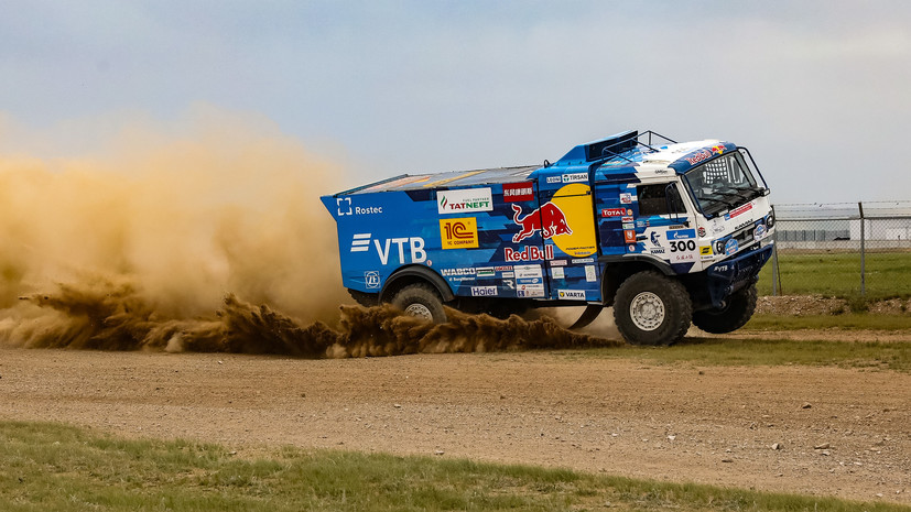 Экипаж Каргинова выиграл пятый этап «Шёлкового пути»