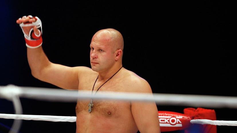 Нурмагомедов назвал Фёдора Емельяненко одним из двух лучших бойцов в истории