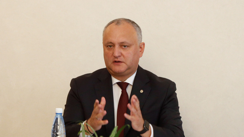 Додон подписал указ об отставке генпрокурора Молдавии
