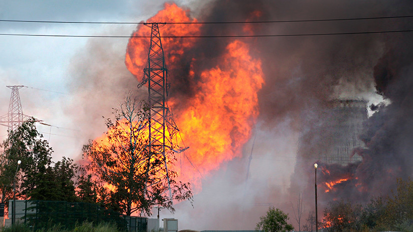 В МЧС сообщили о 11 пострадавших при пожаре на ТЭЦ в Мытищах