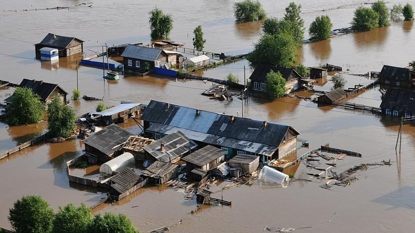 Пострадавшим от паводка в Иркутской области выделят 2,3 млрд рублей