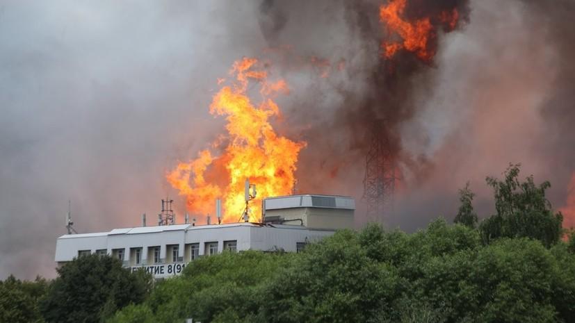 В МЧС заявили о ликвидации открытого горения на ТЭЦ в Мытищах