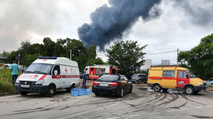 При пожаре на ТЭЦ в Мытищах погиб один человек и 13 пострадали