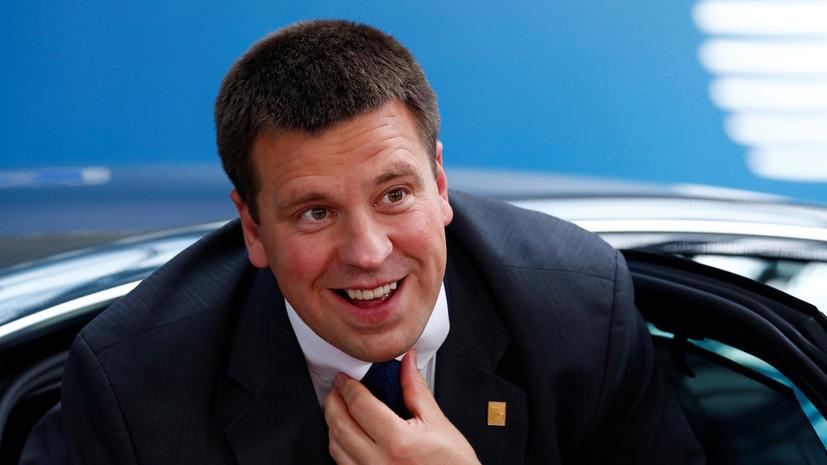 Премьер Эстонии выступил против восстановления памятника эсэсовцам