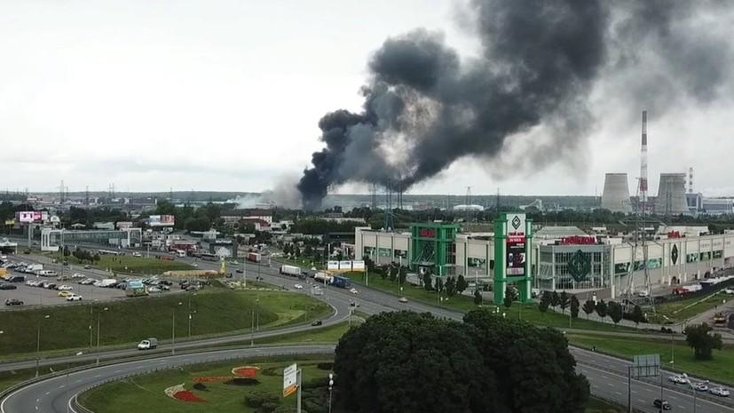 СК возбудил дело по факту пожара на ТЭЦ в Мытищах