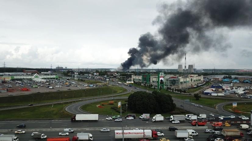 Прокуратура начала проверку из-за пожара на территории ТЭЦ в Мытищах