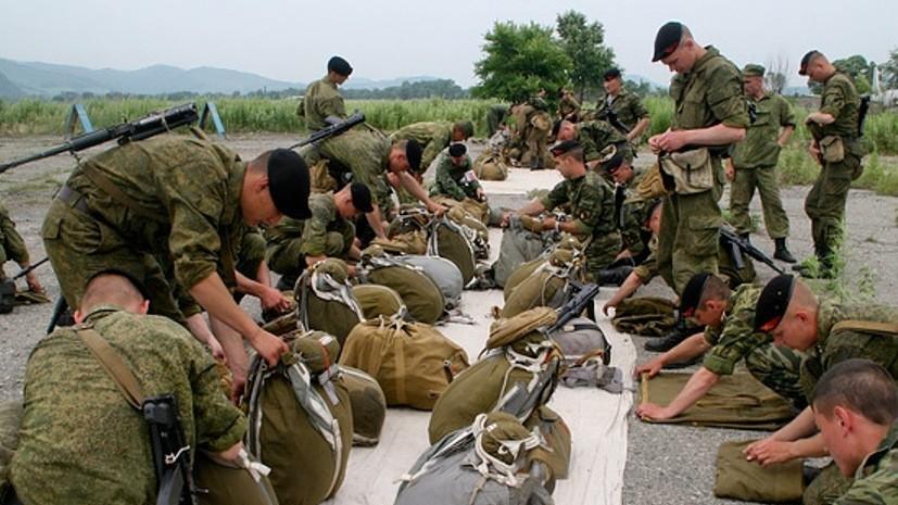 Разведчики-морпехи ТОФ провели сбор по горной подготовке