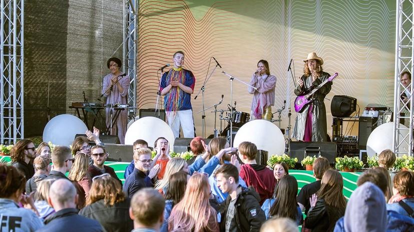 В Москве рассказали о летней концертной программе в парках