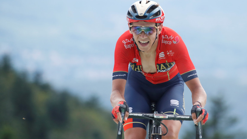 Тёнс стал победителем шестого этапа «Тур де Франс»