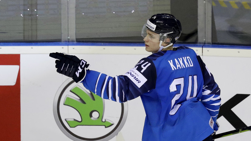 Финский хоккеист Какко подписал контракт с «Рейнджерс»