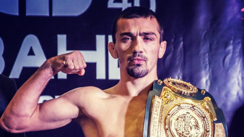 Российский боец Аскаров подписал контракт с UFC