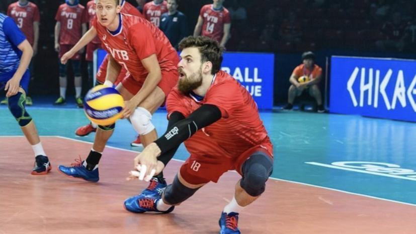 Сборная России по волейболу стартовала в «Финале шести» Лиги наций победой над командой Франции