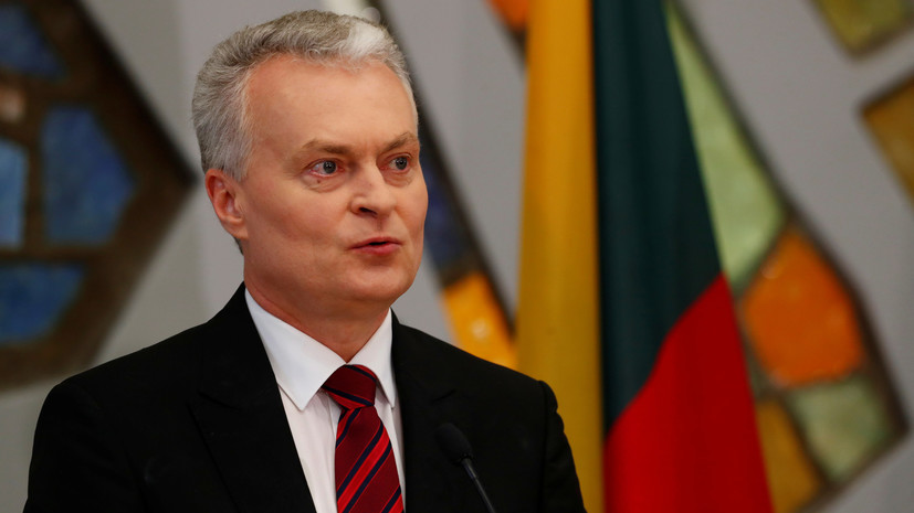 Путин поздравил президента Литвы с вступлением в должность