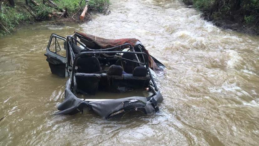 «Пытались пересечь вброд»: что известно о ДТП со смертельным исходом на реке Шуй в Туве