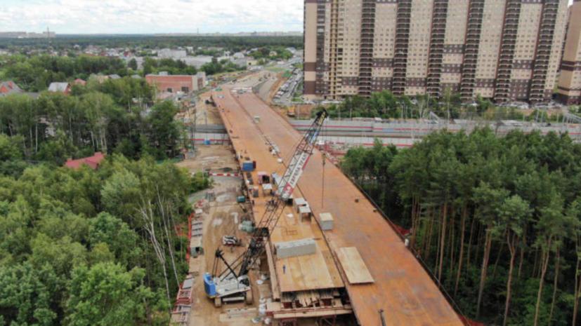 Строительство путепровода в Реутове планируют закончить в сентябре