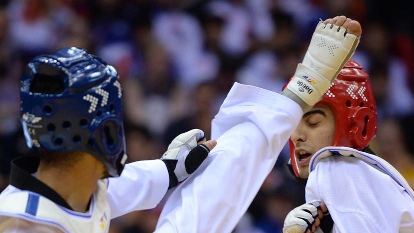Камалов завоевал бронзу в тхэквондо на летней Универсиаде