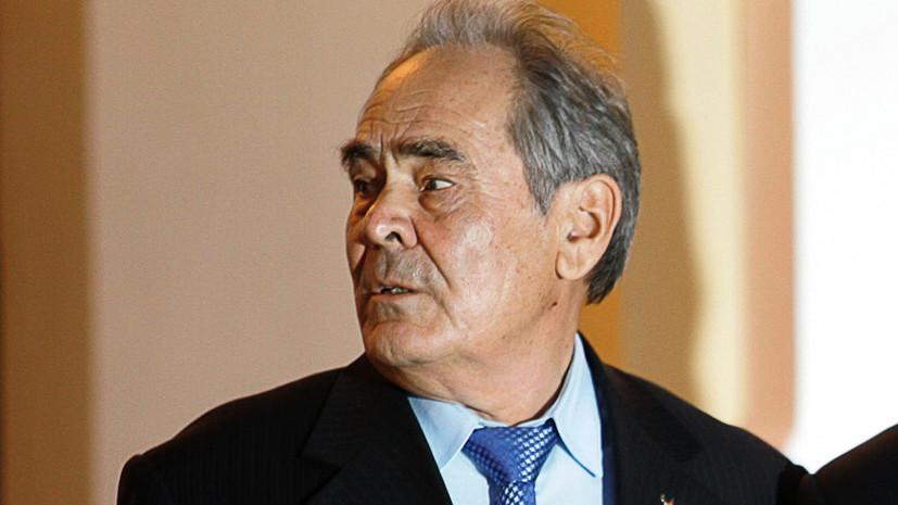 Шаймиев провёл встречу с генеральным консулом Турции в Татарстане