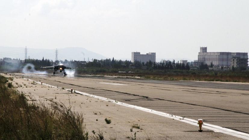 В ЦПВС сообщили о попытке атаки боевиками авиабазы Хмеймим