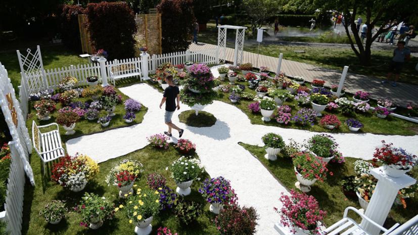 Названы самые необычные сады фестиваля Moscow Flower Show