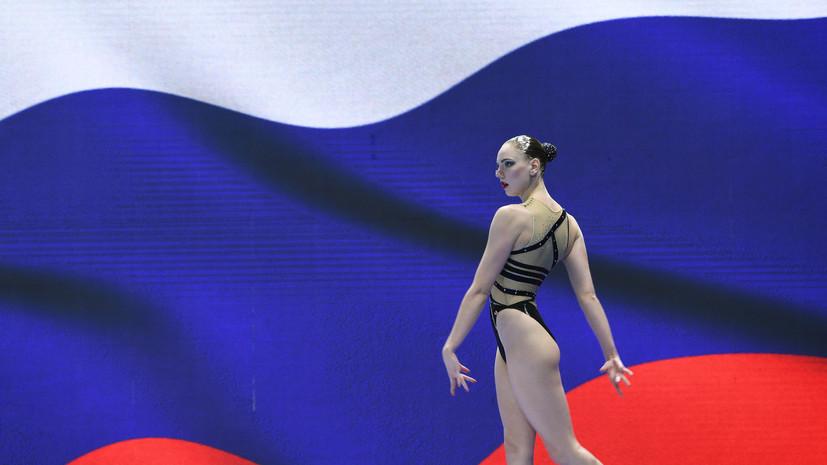 Синхронистка Колесниченко завоевала золото ЧМ по водным видам спорта