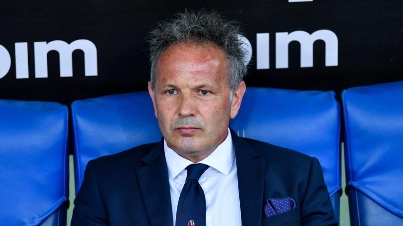 Тренер «Болоньи» Михайлович сообщил, что болен лейкемией