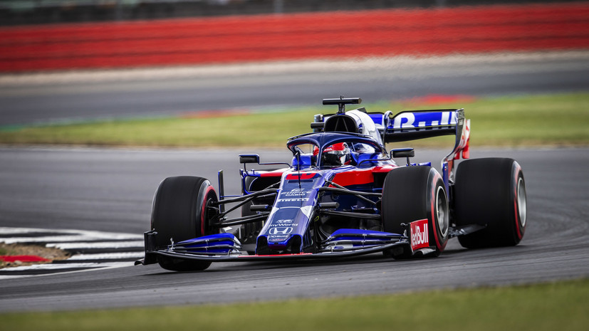 Квят остался недоволен поведением болида в квалификации Гран-при Великобритании