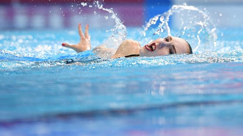 Сборная России занимает второе место по итогам первого дня ЧМ по водным видам спорта