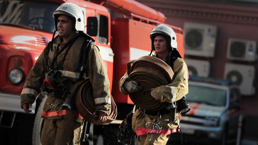 Площадь пожара в цехе под Краснодаром возросла до 1,2 тысячи «квадратов»