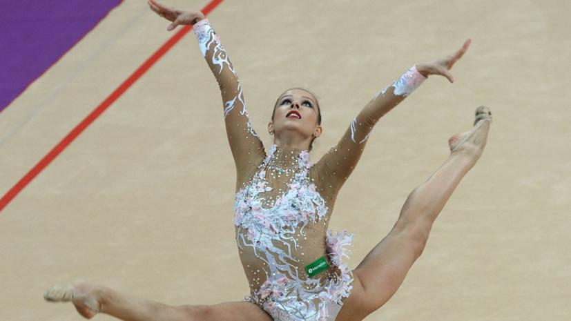 Гимнастка Селезнёва победила на Универсиаде в упражнениях с лентами