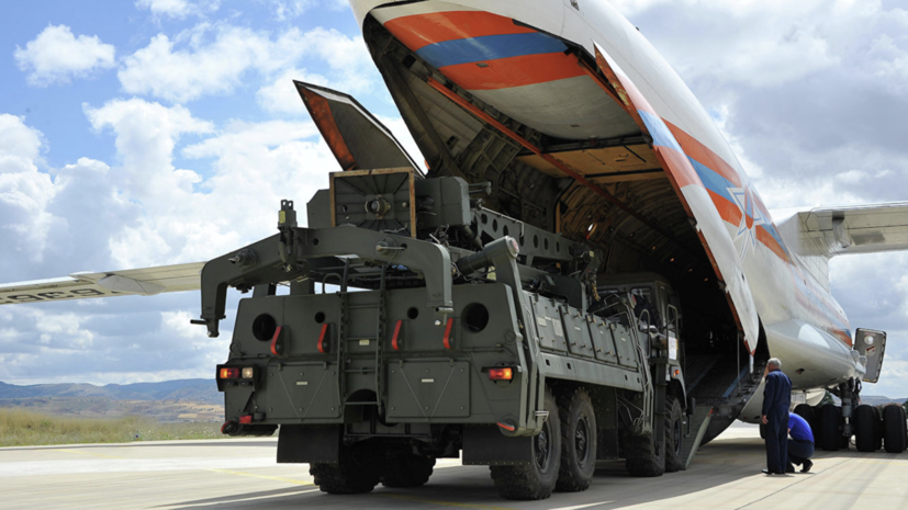 Слуцкий прокомментировал поставки С-400 в Турцию