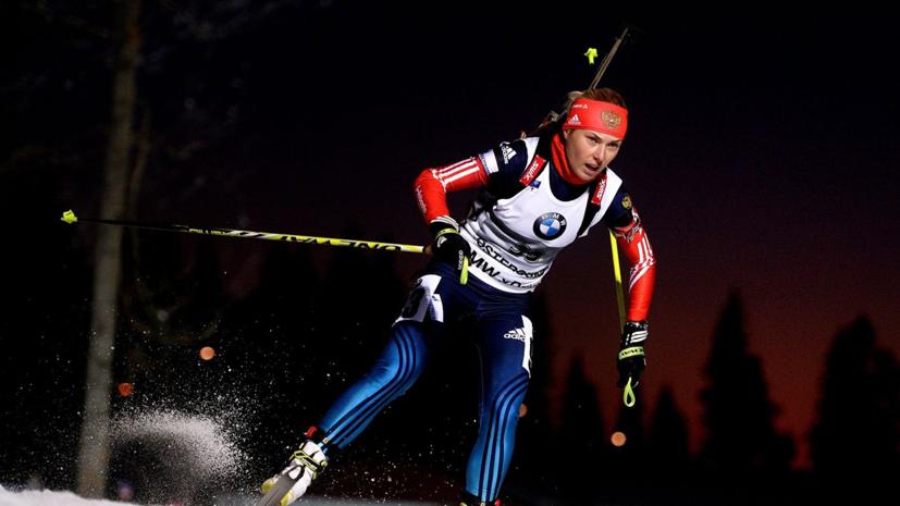 Российская биатлонистка намерена возобновить карьеру и выступать за другую страну